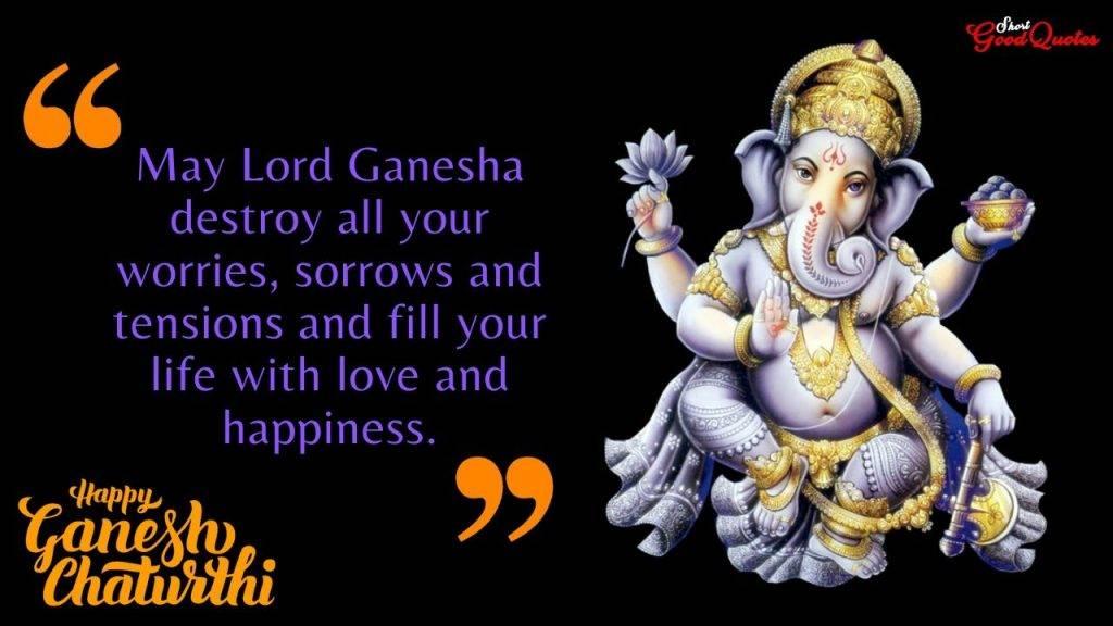 Happy Ganesh Chaturthi Shayari Wishes