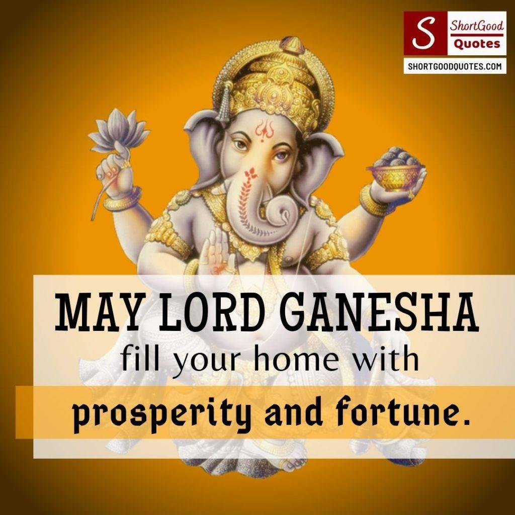 Ganesh Chaturthi Quote Wishes
